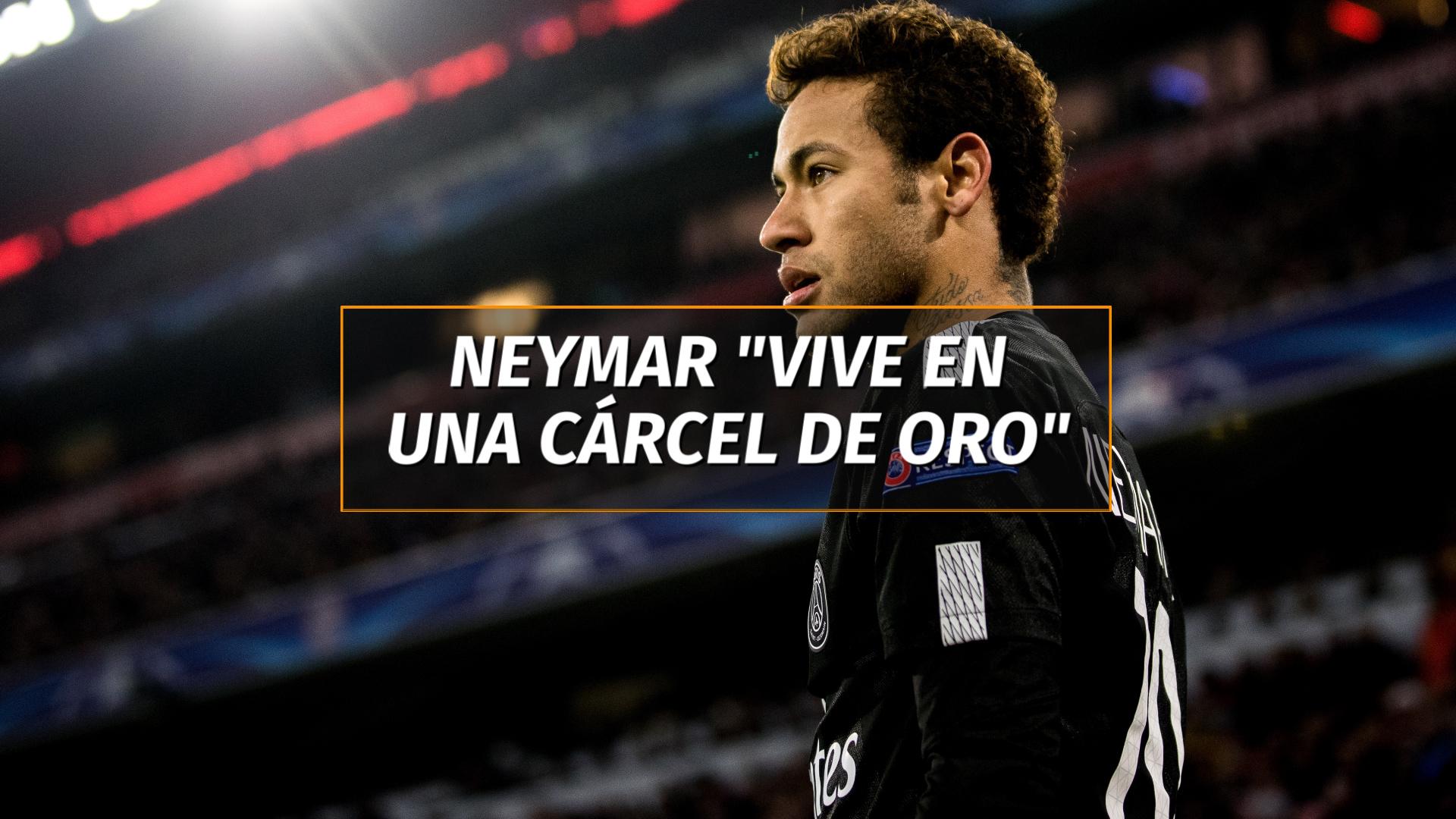 La Frase Que Describe El Presente De Neymar Vive En Una