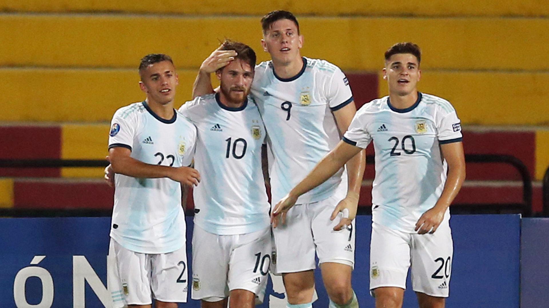 Con Alexis Mac Allister como gran figura, la Selección Sub 23 le ganó 3-2 a  Uruguay en el debut en la fase final del Preolímpico - Infobae