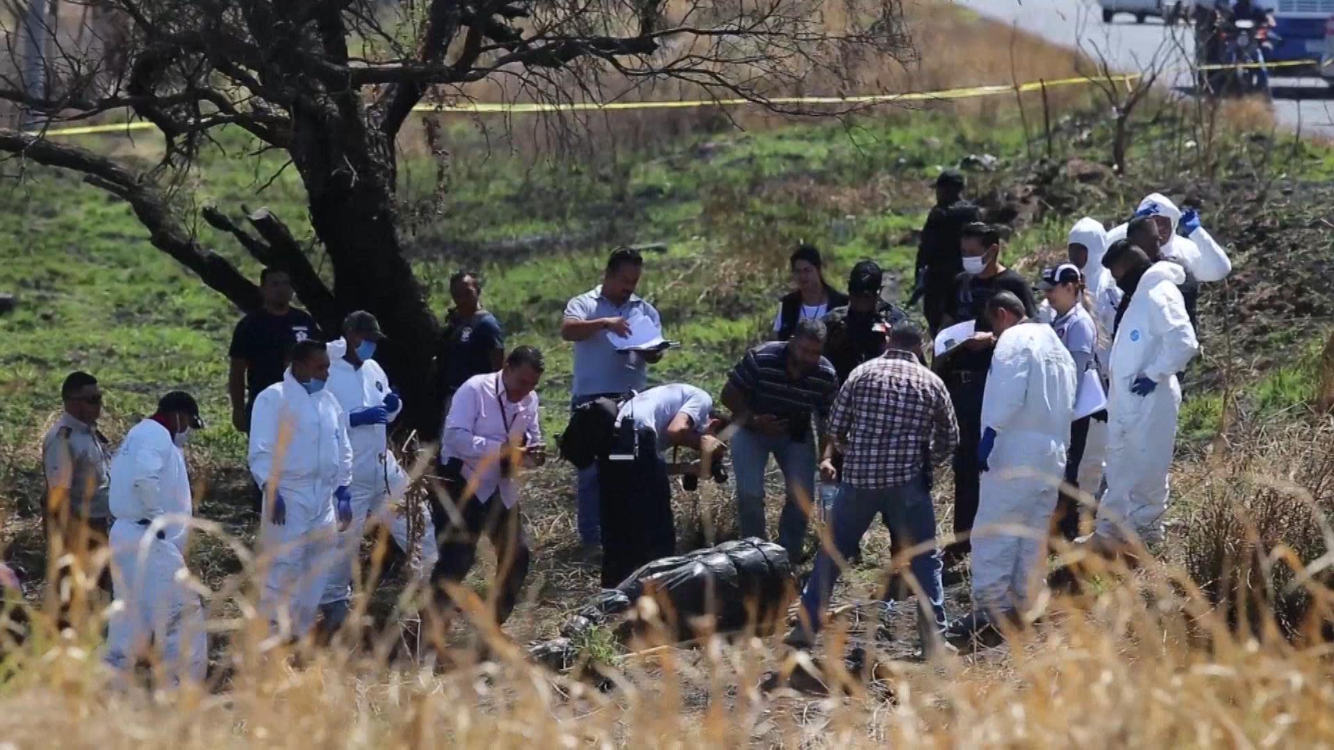 70cb3b510 Encontraron 19 cuerpos embolsados en Ixtlahuacán, Jalisco - Infobae