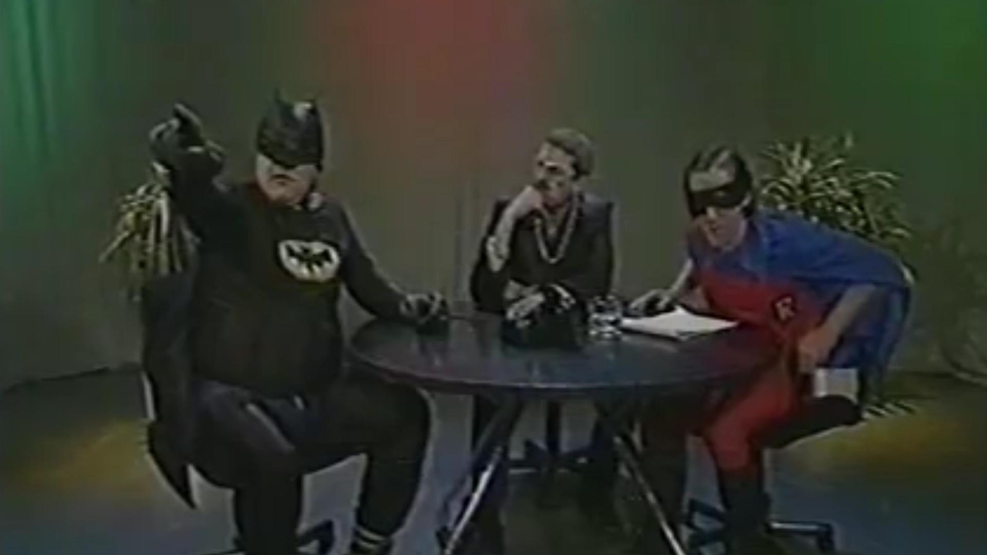 El Desopilante Batman De Alfredo Casero En Cha Cha Cha