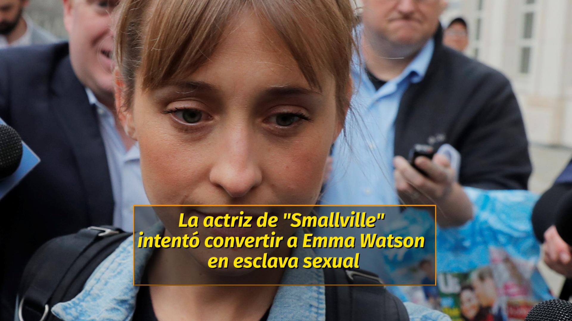 Allison Mack Intentó Convertir A Emma Watson En Esclava Sexual Infobae