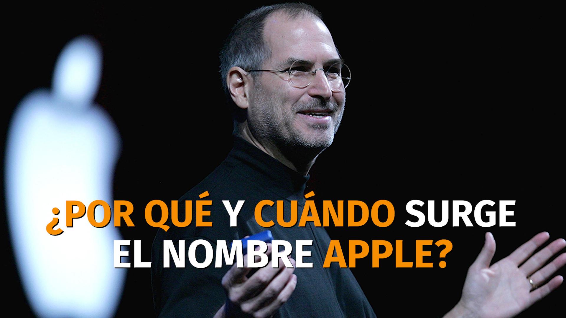 0742c4af97c Por qué Steve Jobs decidió llamar Apple a la compañía - Infobae