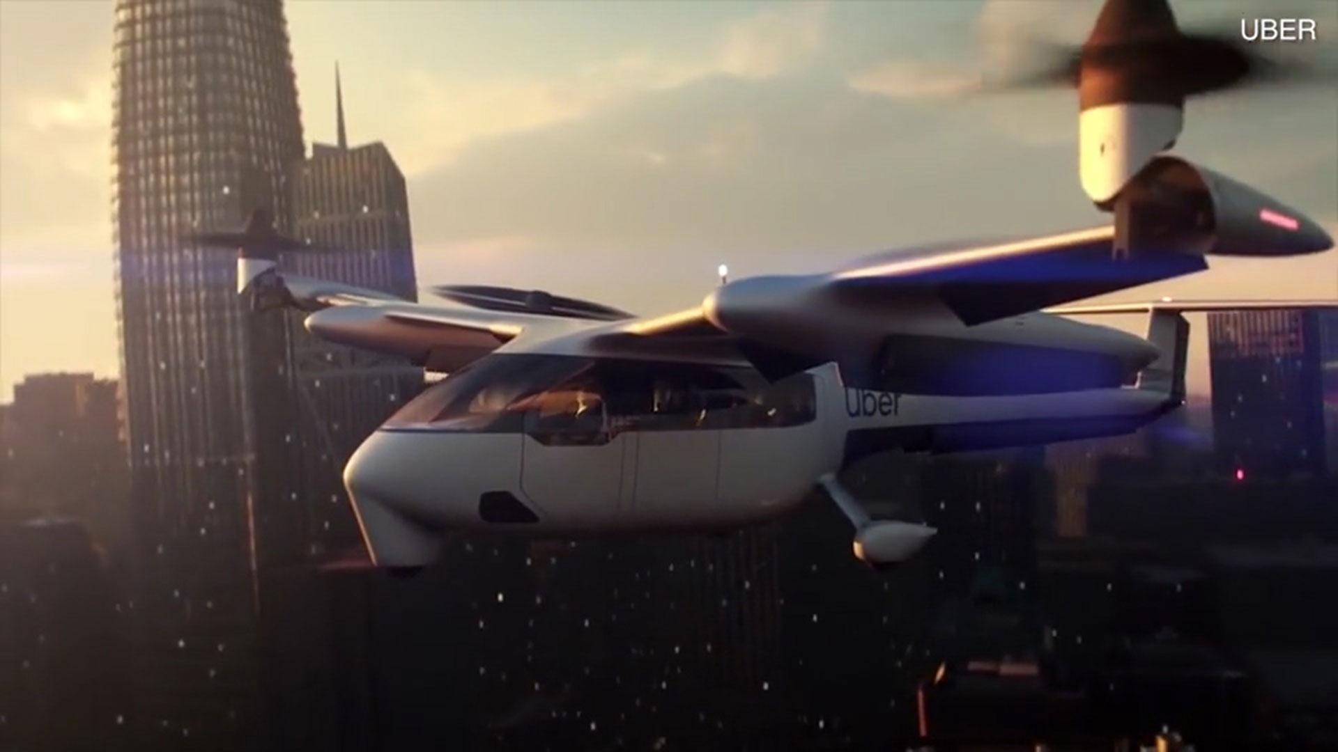 Resultado de imagen para Así será el taxi aéreo que Uber planea lanzar en 2023