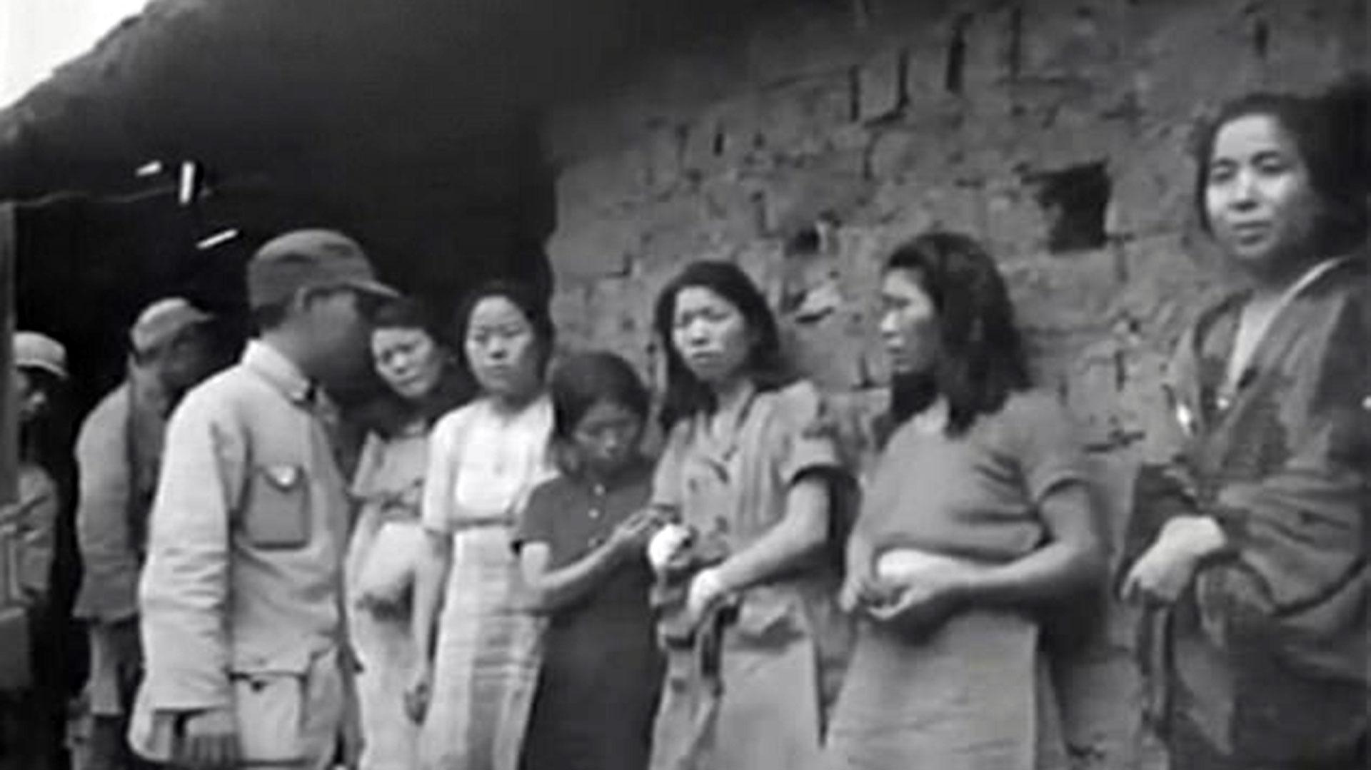 ced0dc0c13 Primeras imágenes de las esclavas sexuales que Japón usaba en la Segunda  Guerra Mundial - Infobae