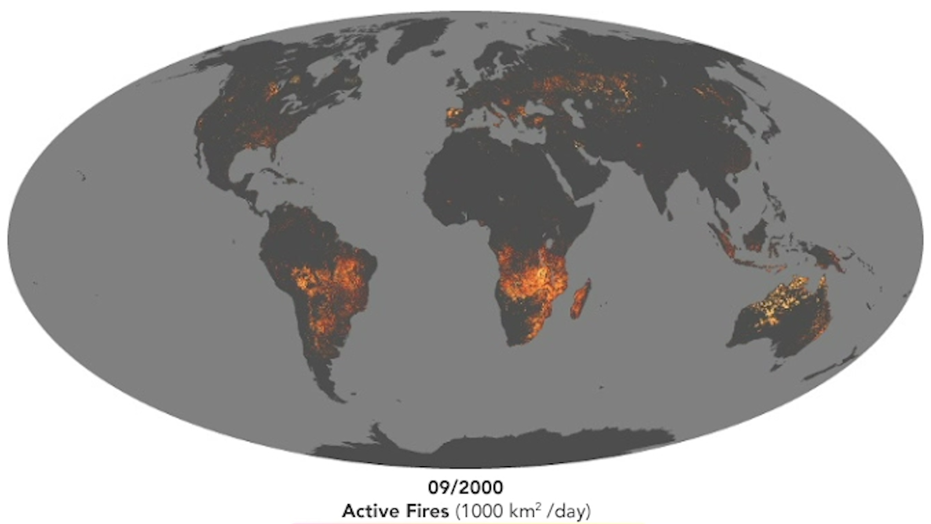 Nasa Mapa De Incendios.La Nasa Muestra Como Se Ve Desde El Espacio El Arrasador