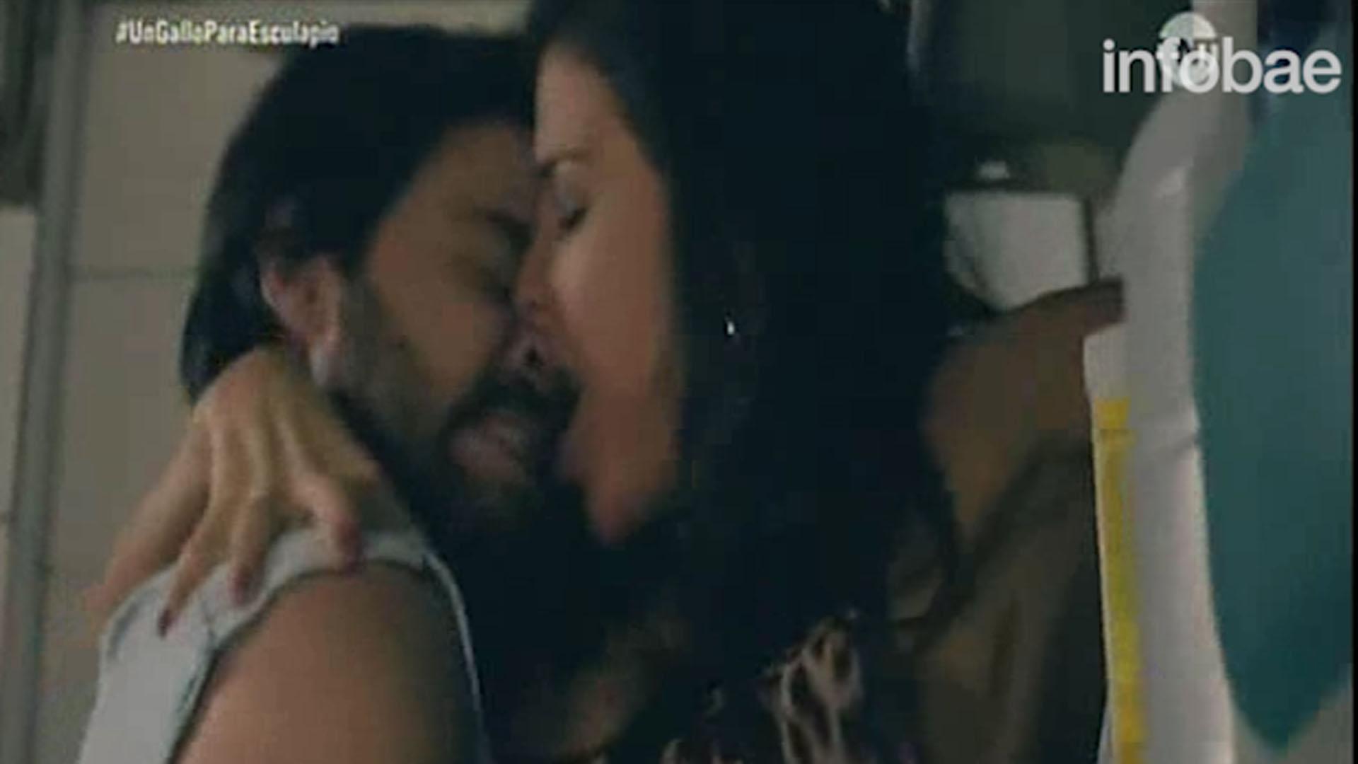 """Andrea Rincon Sexo la escena de sexo de peter lanzani y andrea rincón en """"un"""