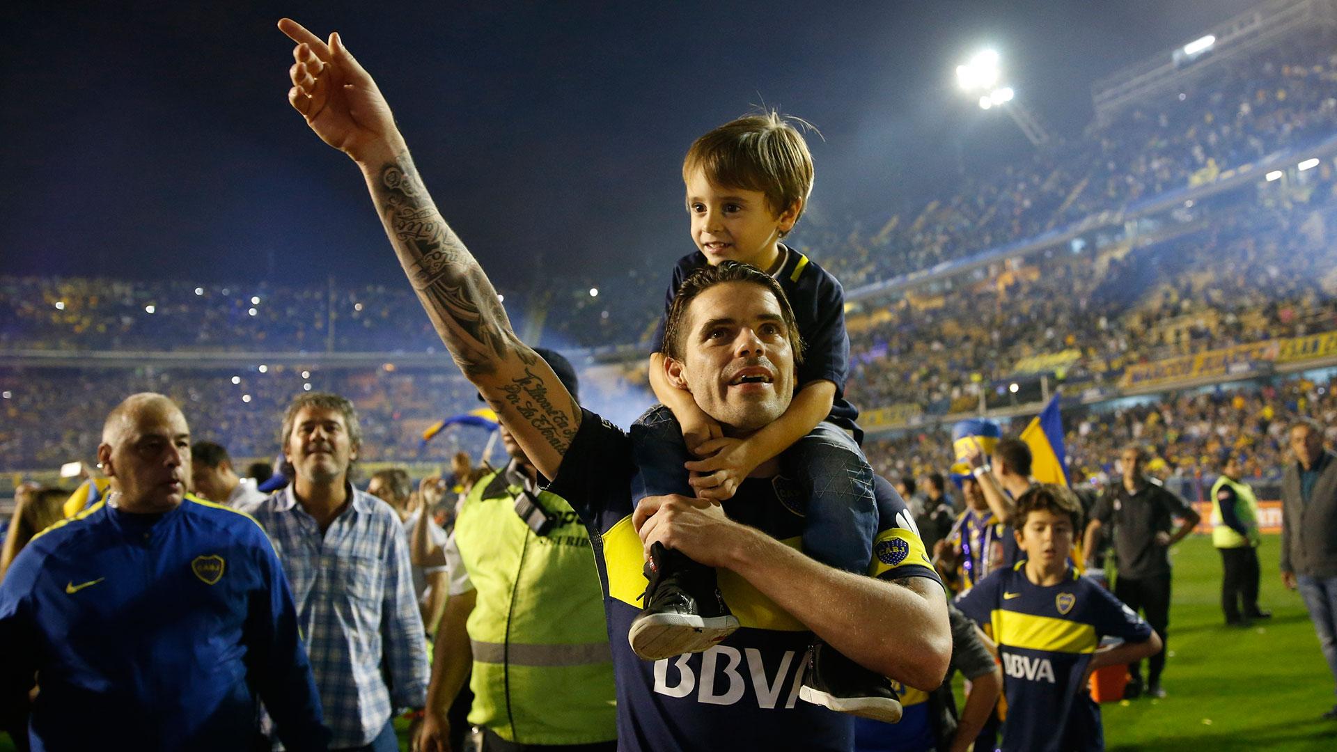 Resultado de imagen para Fernando Gago campeón Boca