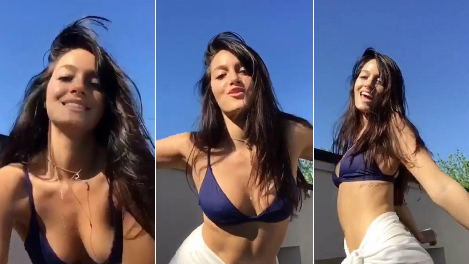50471fa02f57 Oriana Sabatini y un baile sexy en bikini para darle la bienvenida ...