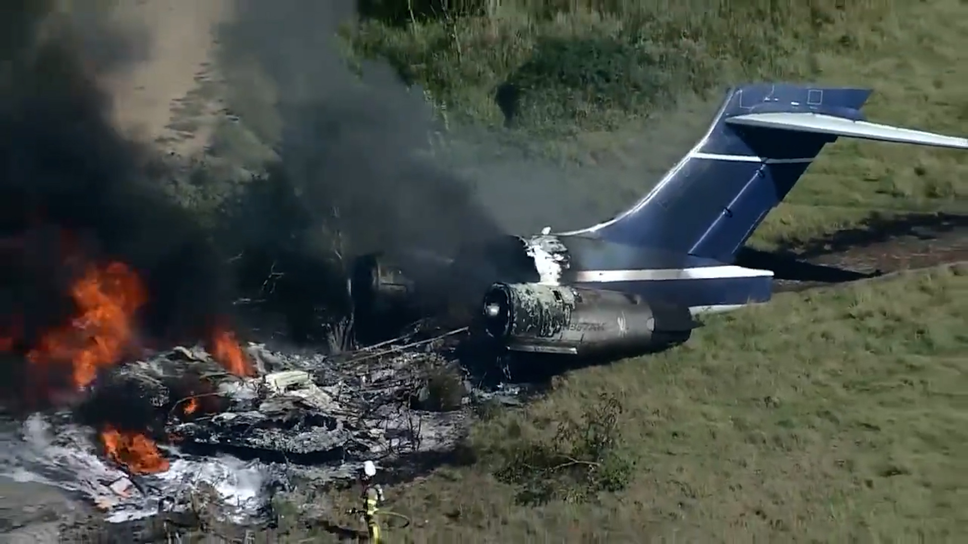 plane crashed in Texas