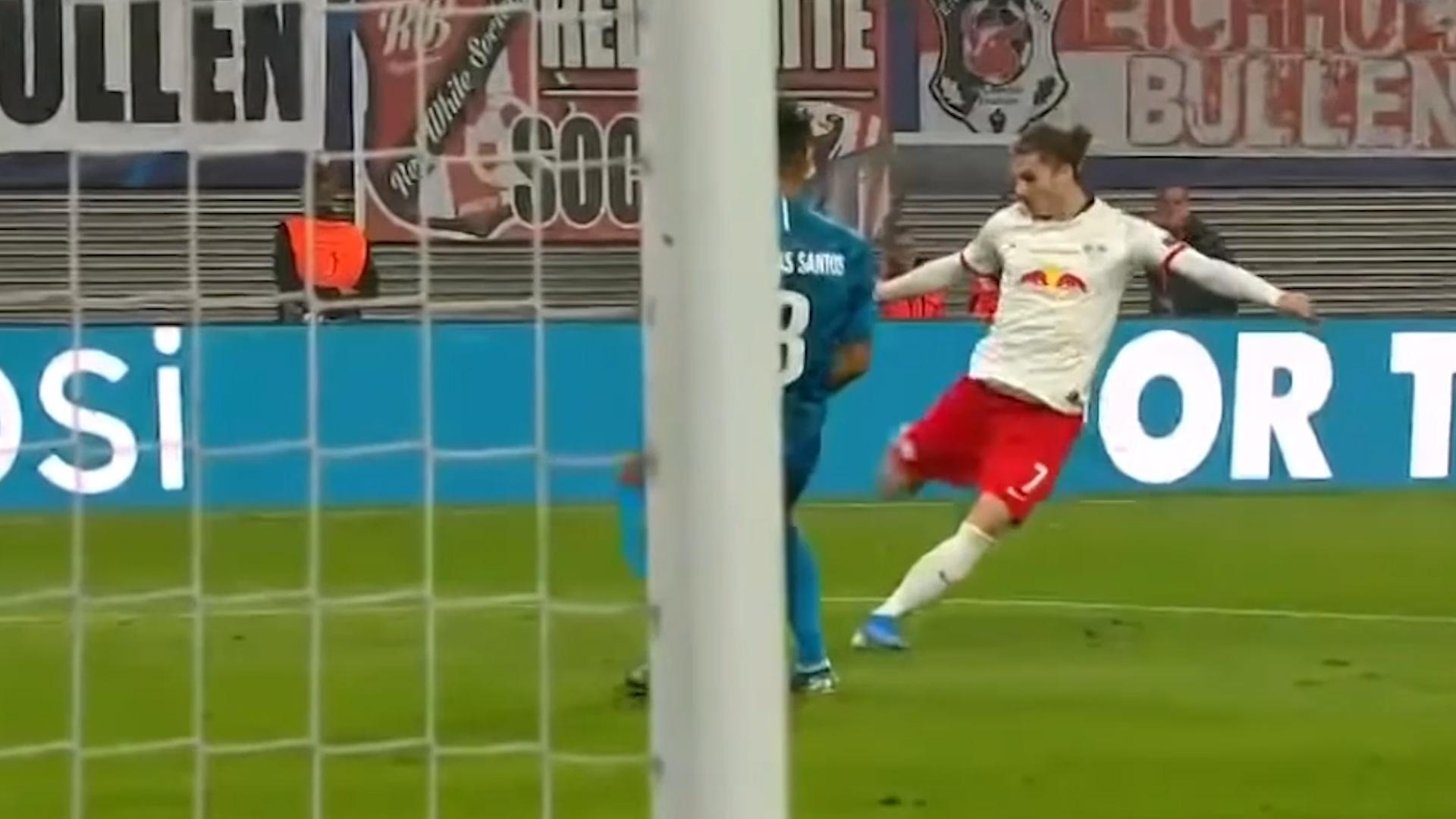 El impresionante gol del Leipzig en Champions League que podría ...