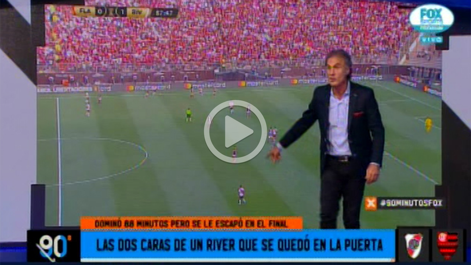 90 Minutos De Futbol En Vivo Por Internet ruggeri, sin filtro tras la derrota de river: el error de
