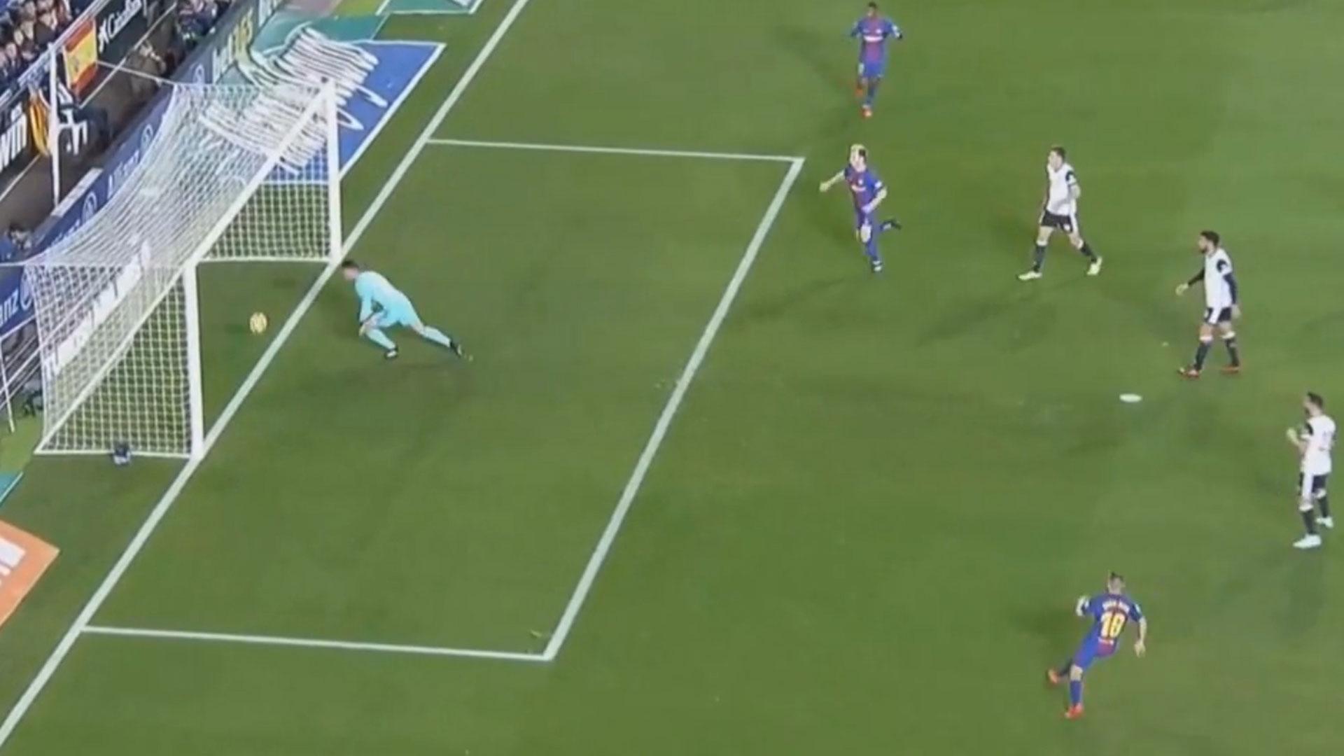 Con un polémico gol anulado a Messi edf1d8470e5ad