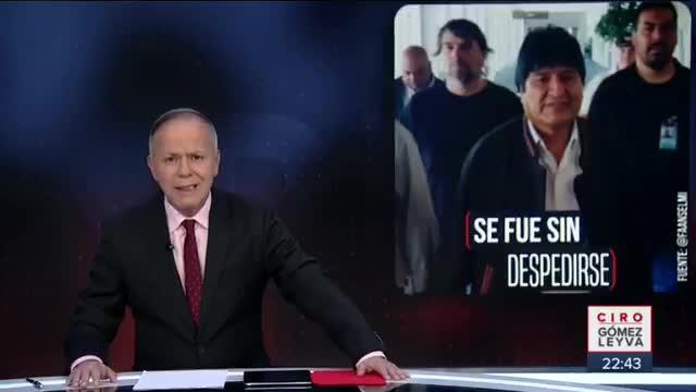 """Resultado de imagem para México: """"Se marchó por la puerta trasera"""": el durísimo paso de Evo Morales por el país"""